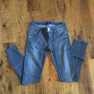 Hudson Jeans Grey Skinny Jeans Sz 27